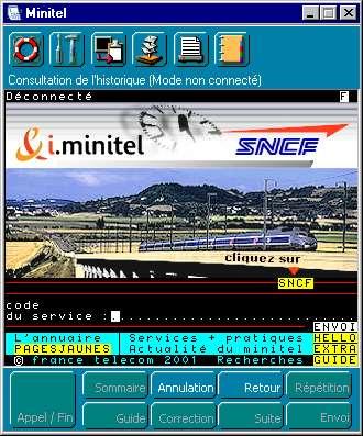 i-minitel SNCF