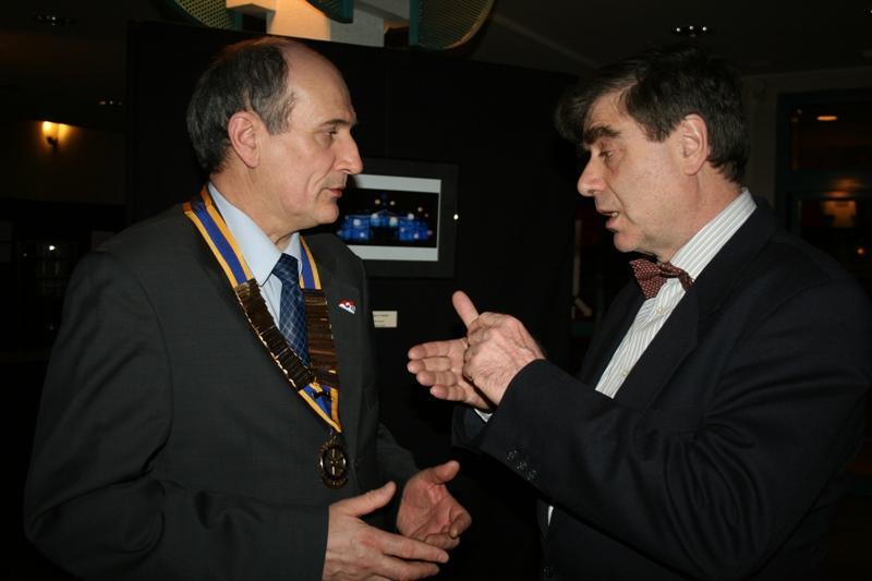 Pierre Muzas et Edmond Chaboche - 30 janvier 2009