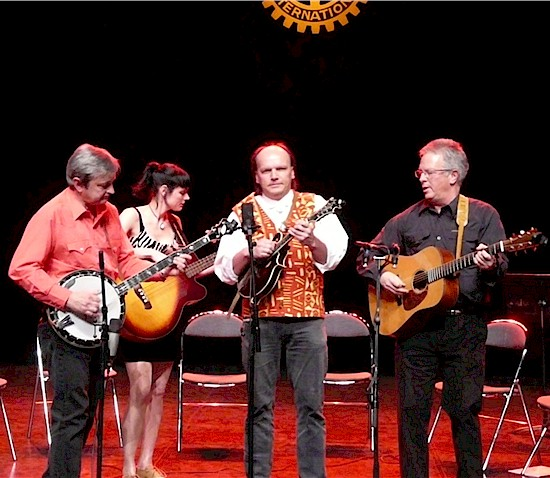 Jean-Marie Redon, Sharon Lombardi Thierry Lecocq, James Field et son groupe Blue Railroad Train