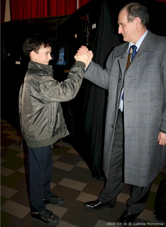 Denis avec Pierre Muzas